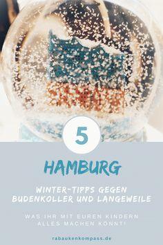 Winter in Hamburg mit Kindern erleben. Wenn das Wetter mal wieder stürmisch, nass und ungemütlich ist, und Euch die Decke zu Hause auf den Kopf fällt, solltet Ihr unbedingt unsere 5 Ausflugstipps ausprobieren. Hier wird gebastelt, gelesen, genascht und so richtig getobt. Viele Angebote sind sogar kostenlos. So macht Winter in Hamburg mit Kindern richtig Spaß. Mehr dazu findet Ihr auf unserem Blog! Sprinkles, Candy, Blog, Weather, Tips, Sweets, Blogging, Candy Bars, Chocolates