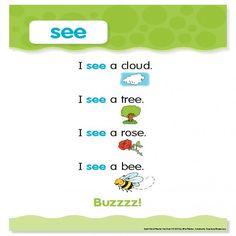 """Sight Word Poem: """"see"""""""
