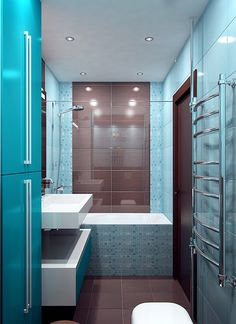 Decorating Bathroom Backsplash Ideas Showing A Modern And Luxury Design  Which Is Suitable To Apply | Bathroom Design U0026 Decoration | Pinterest |  Badezimmer ...