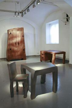 maarten baas at galleria rossana orlandi - designboom | architecture & design magazine