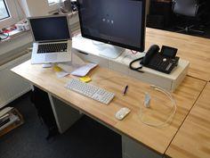 Space-efficient IT-Workstation under 250,00 Euro