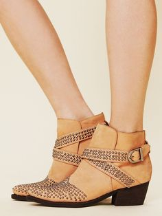 Jeffrey Campbell Dodge City Ankle Boot at Free People Clothing Boutique