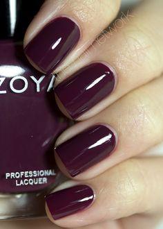 {Zoya: Toni}  Love love love this color :)