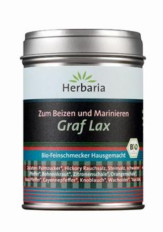Bio-Feinschmecker Graf Lax  Zum Beizen und Marinieren von Fleisch und Fisch, z. B. Graved Lachs.