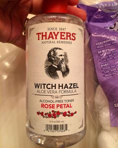 This stuff smells AMAZING!!! Just like a rose garden. #allnaturalbeautyproducts #roses #thayersnaturalremedies