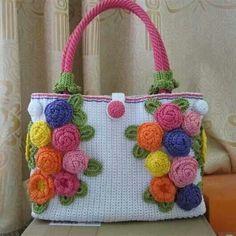 Crochet bag Handmade Handbags & Accessories - http://amzn.to/2ij5DXx
