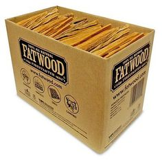 Fuel and Firewood 175755: Wood Products 9925 Fatwood Box 100% Natural Friendly Safe In Bulk Box, 25 Pounds -> BUY IT NOW ONLY: $46.88 on eBay!