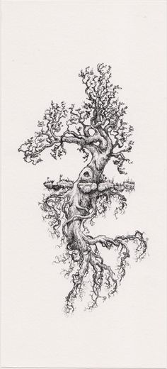 Tree of life! Strong roots=Base of knowledge, well being, healt and secret &…