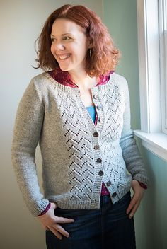 Ravelry: Charlie's Cardigan pattern by Amy Herzog - A bit pricey pattern, but you will receive one customized for your body to fit perfectly.