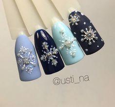 Gucci, Manicure Ideas, Nail Ideas, Winter Nails, Shoes, Christmas Nails, Fashion, Beauty, Xmas Nail Art