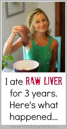 Liver Pills - Kelly from Primally Inspired's 3 year results! Wow!