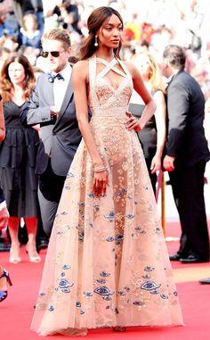 <p>wearing Atelier Versace.</p>