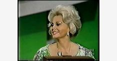 """Zsa Zsa Gabor and Joan Collins on 1975 game show """"Tattletales"""" Zsa Zsa Gabor, 70s Tv Shows, Joan Collins, Show Video, Popular, Games, Youtube, Videos, Popular Pins"""