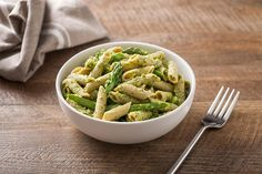 Penne with Asparagus and Spinach Pesto - San Remo