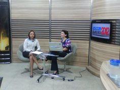 Eliziane Gama concede entrevista ao Portal SuaCidade