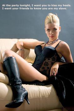 mistress foot Mature humiliating