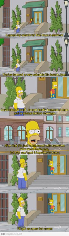 The Simpsons harsh truth