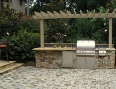 Outdoor Grill Station Built By AquaRama Pools U0026 Spas,  Www.aquaramapoolsandspas.com,