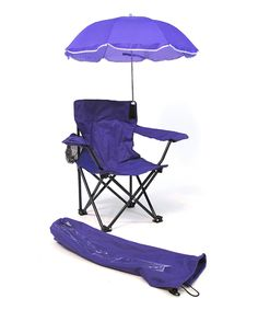 Love this Purple Kids Umbrella Camp Chair & Tote Bag by Redmon on #zulily! #zulilyfinds