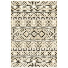 The simple, yet elegant nomadic pattern in the Orian Carolina Fleece Collection Beni Rug features a neutral smoke color that will work with any décor. This rug is super plush and luxurious so its a perfect greeting for your feet after a long day.