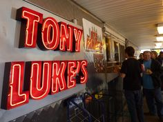 Tony Luke's in Philly for a cheesesteak.