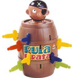 Meus filhos brincaram muito com o Pula Pirata
