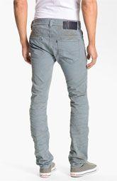 DIESEL® 'Thavar' Slim Straight Leg Jeans (Light Blue)