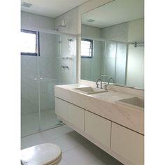 Banheiro cuba dupla | Projeto by Dani Momoi Arquiteta