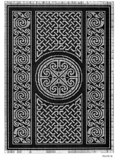 ru / Фото - Celtic Charted Designs - thabiti Would be gorgeous in aloud with Kauni. Celtic Cross Stitch, Cross Stitch Borders, Cross Stitch Charts, Cross Stitching, Cross Stitch Embroidery, Cross Stitch Patterns, Celtic Patterns, Celtic Designs, Loom Patterns