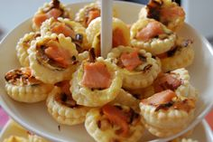 Blog Cuisine & DIY Bordeaux - Bonjour Darling - Anne-Laure: Minis Tartelettes #1 : Saumon-Poireau