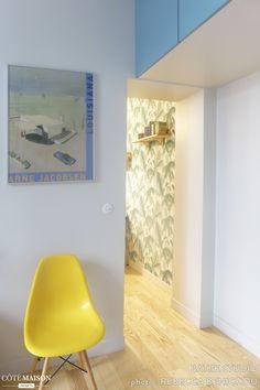 Un appart de 36 m2 restructuré et relooké pour 40 000 euros, Batiik Studio - Côté Maison