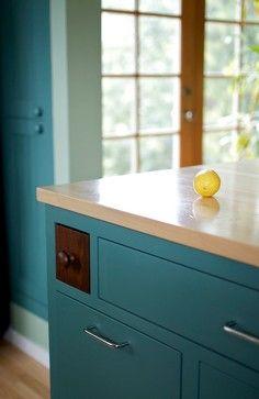 Hidden wood drawer
