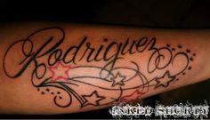 Rodriguez & Stars Tattoo