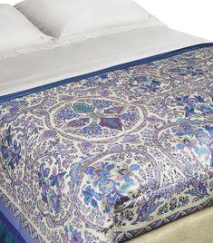 Etro Gubbio Fontanelle Bedspread X In Purple Paisley Pattern, Home Bedroom, Bed Spreads, Comforter Sets, Home Art, Purple, Harrods, Inspiration, Design