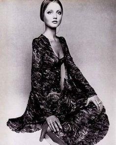 Ingrid Boulting for Biba 1969 via pinterest #70sbabe #ingridboulting #fredandlulustyle