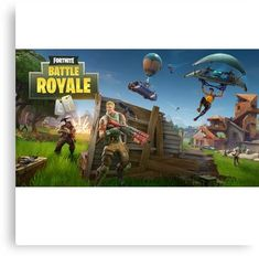Fortnite Battle Royale Canvas Print Ios Games Android Games Epic Games