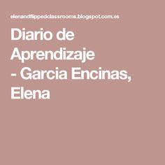 Diario de Aprendizaje -Garcia Encinas, Elena