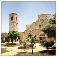 Saint Barnabas Monastery in Northern Cyprus.