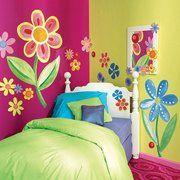 Wallies Big Flowers Wallpaper Mural-walmart $42.99