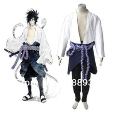 Naruto cosplay Shippuden Samurai Sasuke Uchiha Cosplay Adult Halloween Costumes for men Japanese Anime plus size Custom-in Clothing from Novelty & Special Use on Aliexpress.com | Alibaba Group