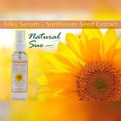 Homemade Hair Serum, Hair Strand, Silky Hair, Sunflower Seeds, Hair Care, Perfume Bottles, Inspired, Create, Natural