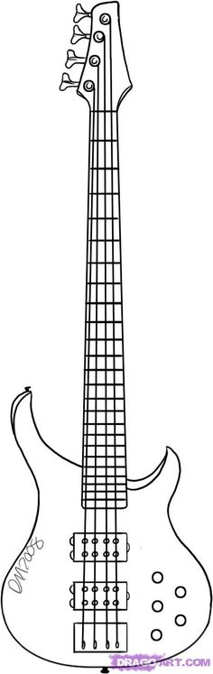 guitar caricature in pencil - Google Search