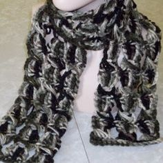 Broomstick Lace Chunky Crochet Scarf - Media - Crochet Me