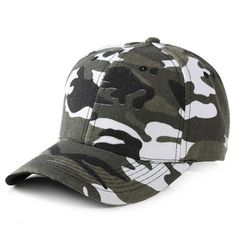 942bc949c5a Hot Sale Solid Camouflage Baseball Cap For Women Summer Snapback Hat  Headgear Outdoor Anti-UV