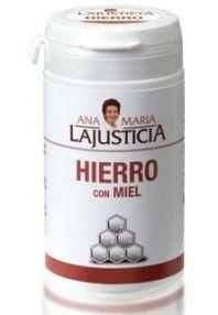 Ana Maria Lajusticia Hierro con Miel 135g. Comprar aqui: http://www.suplments.com/ana-maria-lajusticia-hierro-con-miel-135g
