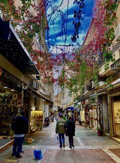 Adrianou street,Monastiraki,Athens,Greece