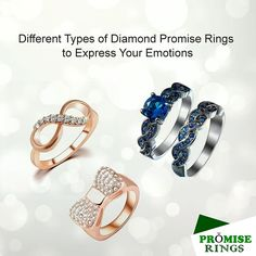 Never heard of promise rings? Are you a romantic? If you are, then you should read this. These rings are basically an affordable version of engagement rings that you give your partner to show your commitment towards the relationship. Princess Promise Rings, Rose Gold Promise Ring, Promise Rings For Couples, Rings For Men, Types Of Diamonds, Rings Online, Bling Bling, Wedding Rings, Relationship