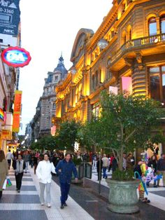 Florida Avenue between Marcelo T. de Alvear & Rivadavia ~ Buenes Aires, Argentina