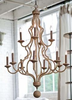 Regina Andrew rope chandelier