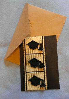 Blank Graduation Card  Congrats Graduate by MrsSaraGDesigns, $4.50